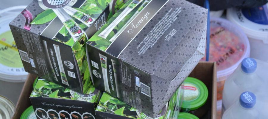 Іноваційно упакований чай зігріває бійців.